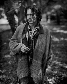 Johnny Depp looks like a poet here.