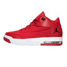 22bbb863894e Nike Jordan Flight Origin 3 Gs Big Kids 820246-601 Red White Shoes Youth Sz