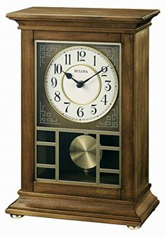 Bulova Stratford Chiming Mantel Clock ** Check this awesome product by going to the link at the image.