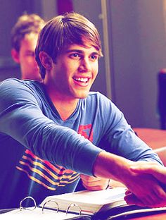 Blake Jenner as Ryder on Glee