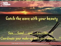 Catch the wave with your beauty