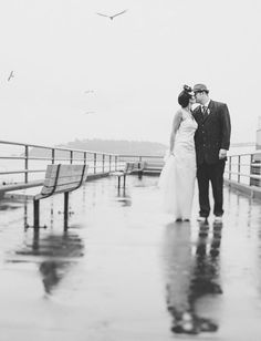 10 Pictures That Prove Rain Makes Weddings More Romantic