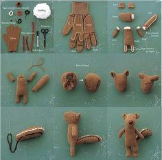 Gloves animal