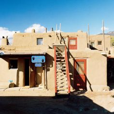 Taos Pueblo Christmas Eve - Best Holiday Traditions in the West - Sunset