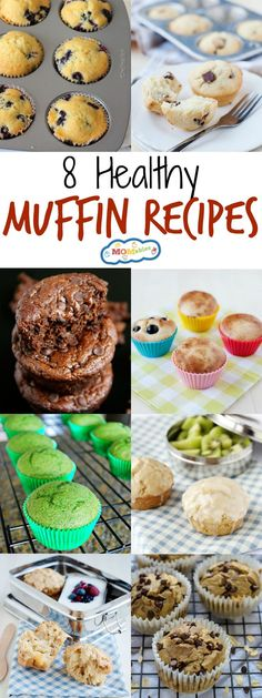 If you need some breakfast ideas that are easy to make ahead and grab in a hurry, these 8 healthy muffin recipes are for you. Filling, nutritious, & tasty!