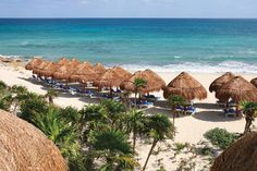 "Valentin Imperial Maya ~ Riviera Maya | On Playa Del Secreto, ""The Secret Beach,"" - a romantic retreat for couples! Check it out!"