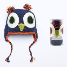 Katia Owl Hat Kit 74 Navy with Acrylic Owl Hat, Knitting Kits, Knit Or Crochet, Winter Hats, Projects, Navy, Coin Purses, Owls, Braid