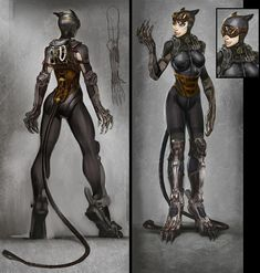 Catwoman Final Design - Injustice, Gods among us.  Let's see if i can find your off button!