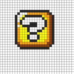 mario fire thrower perler bead pattern bead sprites characters mario brickblock perler bead pattern bead sprites misc fuse bead patterns