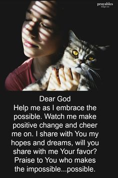 Here's a prayer from Prayables we're calling Embrace the Possible Prayer Scriptures, God Prayer, Daily Prayer, Bible Verses Quotes, Encouragement Quotes, Quick View Bible, Prayer Changes Things, God Help Me, Tips & Tricks