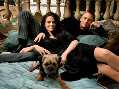 i dont know why i find this adorbs...bond, puppy, vesper. ah so sweet.