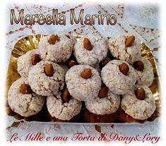Great Desserts, Mini Desserts, Italian Almond Cookies, My Favorite Food, Favorite Recipes, Xmas Food, Biscuit Cookies, Sweet Cakes, Confectionery