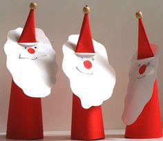 Christmas Papercraft for Kids - How to Make a Santa Claus Paper Toy…