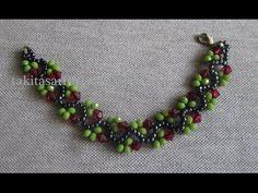 New Model Creeper Bracelet Making Beaded Anklets, Beaded Jewelry, Handmade Jewelry, Beaded Bracelets Tutorial, Necklace Tutorial, Beading Tutorials, Beading Patterns, Bracelet Making, Jewelry Making