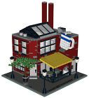 Lego Custom Modular Building - Smokestacks Coffee Shop -INSTRUCTIONS ONLY!