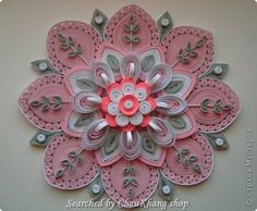 stranamasterov.ru/ - Quilled decorative circles pictures (Searched by ChauKhang)