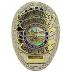 "Glendale California Police Officer Badge Pin 1"" by FindingKing. $9.50. This is a new Glendale California Police Officer Badge Pin 1"""