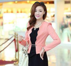 Spring And Autumn Slim Jacket Female