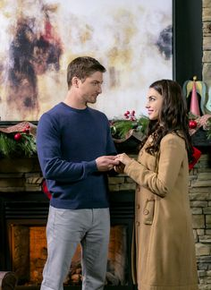"""Check out photos from the Hallmark Channel original movie """"A December Bride"""" starring Jessica Lowndes and Daniel Lissing Films Hallmark, Hallmark Homes, Hallmark Channel, Xmas Movies, Go To Movies, Hallmark Christmas Movies, Jack Evans, Daniel Lissing, Jack And Elizabeth"""