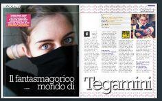 Il fantasmagorico mondo di Tegamini - l'intervista di Francesco Marino su Digitalic :)