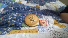 My Stratton pill box and KIGU  compact