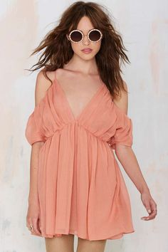 The Jetset Diaries Eternal Off-The-Shoulder Dress - Day | Off The Shoulder