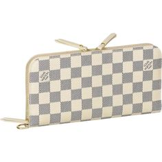 Louis Vuitton Insolite Wallet Damier Azur Canvas Would love one for my birthday! Louis Vuitton Wallet, Louis Vuitton Handbags, Louis Vuitton Damier, Small Leather Goods, Authentic Louis Vuitton, Wallets For Women, Fashion Bags, Fashion Handbags, Purses