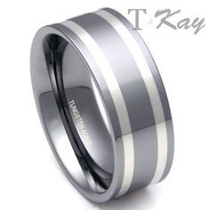This sleek tungsten carbide is designed especially to accompany you in all of your activities.