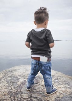 I Dig Denim summer 2013, inspired by the Swedish coastline, practical and cool kids denims