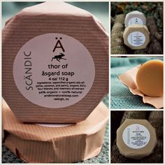 Scandinavian-inspired soap and skincare products, made in NC! Anders Natural Soap Co. #HandmadeInNC