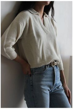 First Rite seed stich henley - natural #flat #chested #outfits #simple Look Fashion, Winter Fashion, Fashion Outfits, 90s Fashion, Fashion Clothes, Indie Hipster Fashion, Young Fashion, Travel Fashion, Fashion Today