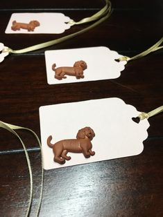 Paper Dachshund Tags, Customized Dachshund tags, Gift Tags, Dachshund lover tags, Dog Birthday theme tags, Dachshund Party tags- 5/order 30th Birthday For Him, Dog Birthday, Birthday Party Themes, Favor Tags, Gift Tags, Colour List, Party Hats, Dachshund, Card Stock