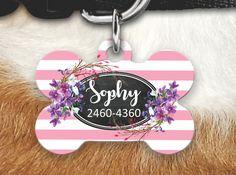 Personalized Dog Tag - Dog ID Tag - Personalized Bone Dog Tag - Custom Pet ID Tag - Dog Tag For Dogs-Personalized Pet Gifts- Pet Id Tag by MysticCustomDesignCo on Etsy
