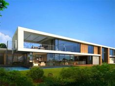 Image detail for -rancho palos verdes calif this incredible contemporary home is made up ...