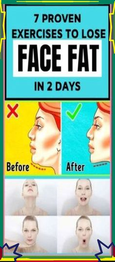7 Proven Exercises to Lose Face Fat In 2 Days