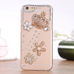 Amazon.com: Handmade Luxury Designer Flower Five Leaf Grass Clover Bling 3d Special Crystal Case Cover for Apple Iphone 5c (2-daisy): Cell Phones & Accessories