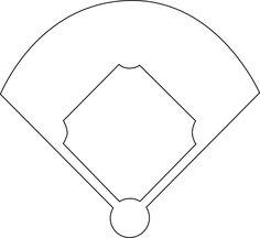 Free Baseball Jersey Cut Out - Large | Baseball Printables ...