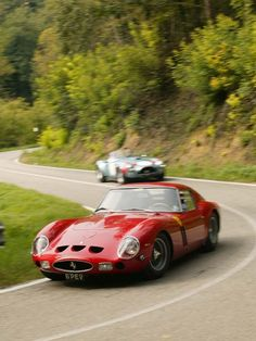 1962 Ferrari 250 GTO.  This is what I want to do when I retire...