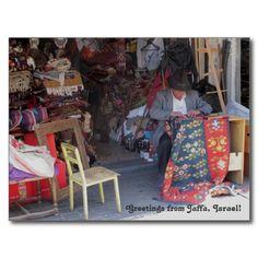 #Jaffa #Flea #Market Photograph Postcard