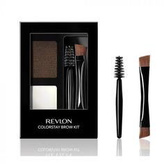 Revlon Colorstay Brow Kit / Dis-Chem - Pharmacists who care Eyebrows, Eyeliner, Eyeshadow, Henna Brows, Brow Kit, Brow Shaping, Permanent Hair Color, Eyebrow Makeup, Makeup Revolution
