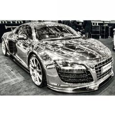 Mean Chrome Audi R8