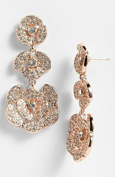 Rose gold blooms from kate spade new york