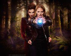 Emma's Magic, with Queen Regina's help