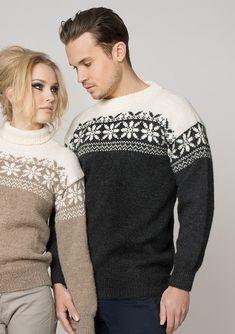 Bilderesultat for selbu genser herre Nordic Design, Knitting Accessories, Ikon, Gentleman, Winter Fashion, Crochet Patterns, Men Sweater, Prom Dresses, Graphic Sweatshirt