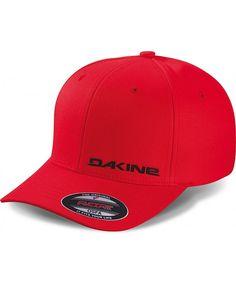 Dakine silicone rail flexfit cap - cardinal (red)