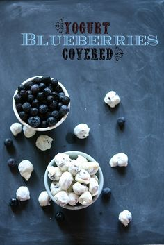 Yogurt-covered blueberries #ViLife - Use your Shake Mix to make these! #protein #blueberries #dessert #snack (Find the recipe on the Beyond the Blender site, get your shake mix from http://www.USABodyByVi.com)