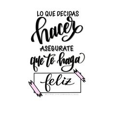 Message For My Love, Love Messages, Lettering Guide, Brush Lettering, Calligraphy Letters, Modern Calligraphy, Love Phrases, Motivational Phrases, Spanish Quotes