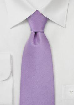 light lavender tie.