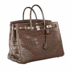 Best Bag Ever! Hermes Birkin Bag Havane Matte 40cm Alligator thumbnail 1