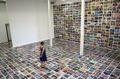 "Erik Kessels has used found photography once more to create an installation of thousands of ""feet selfies"" from across the internet, for the F/STOP International Photography Festival in Lepzig, Germany. Atelier Photo, F Stop, Creative Review, Metal Magazine, Renaissance Men, Family Album, Stage Design, People Photography, Installation Art"